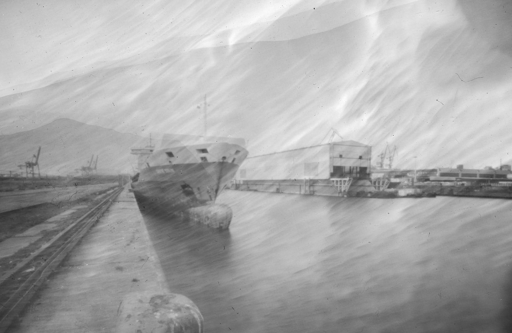 Containerschiff Rio Taku