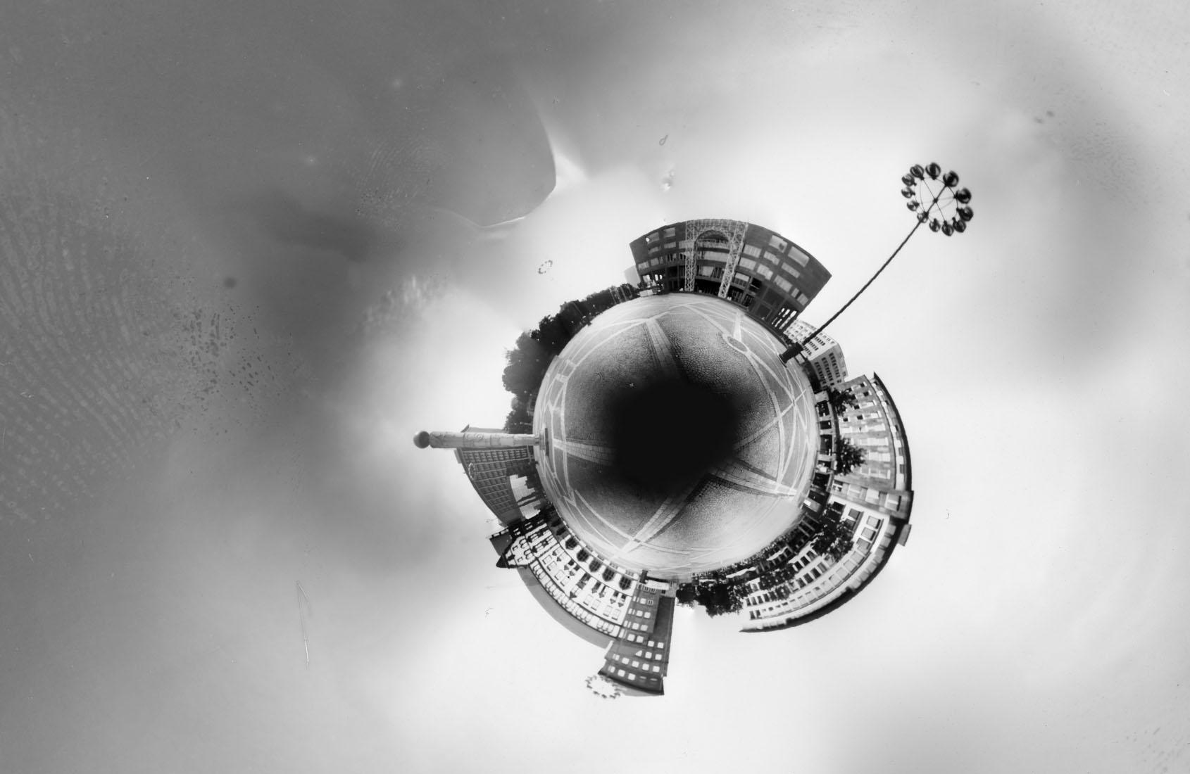 Friedensplatz, Dortmund Kleiner Planet, Lochkamera Fotografie