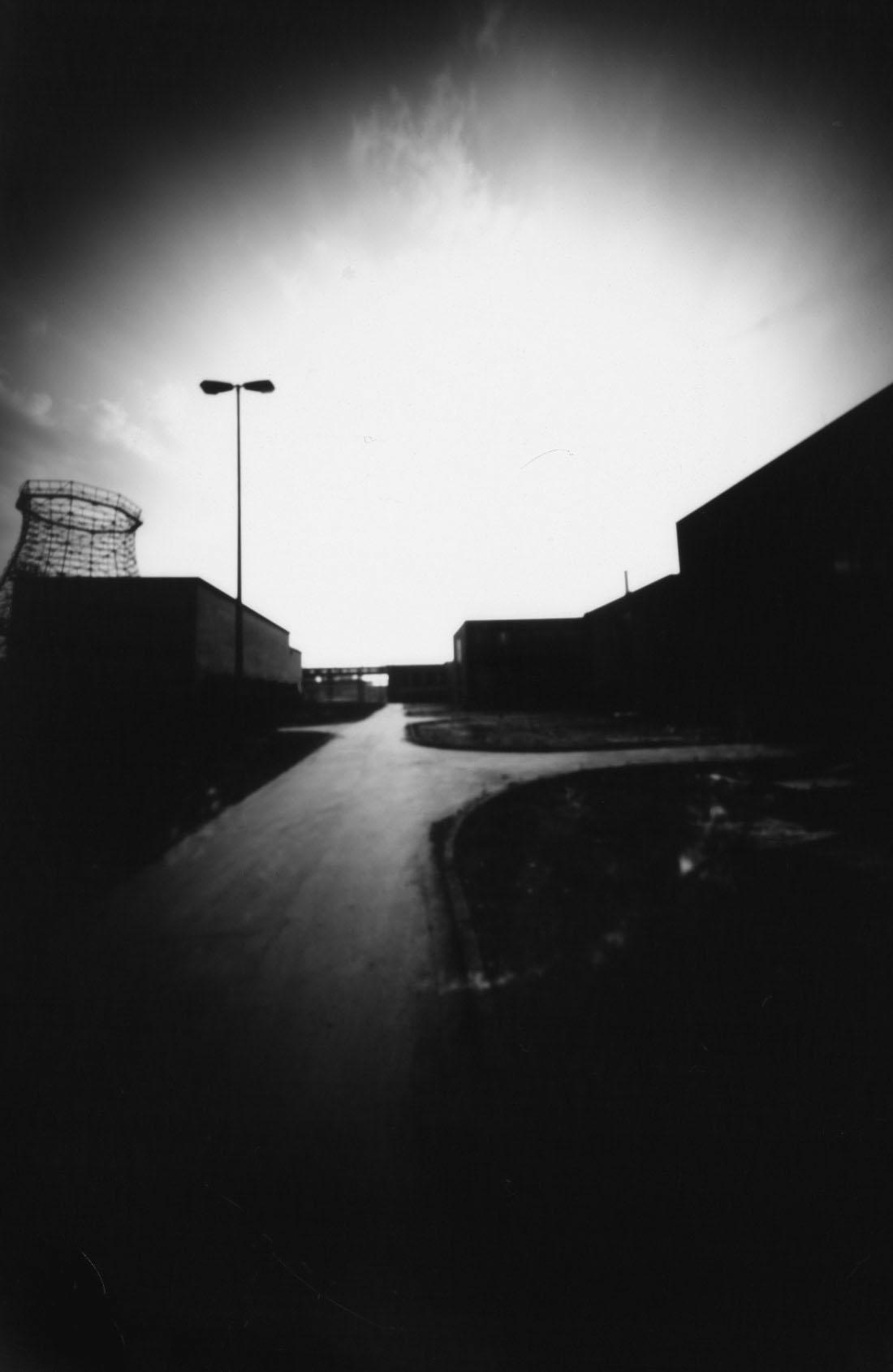 Zeche Zollverein, Essen Lochkamera Fotografie