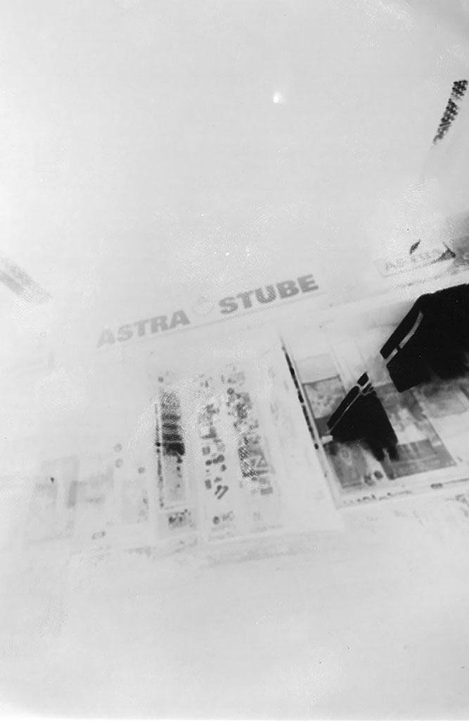 die Astrastube Hamburg fotografiert mit einer Lochkamera