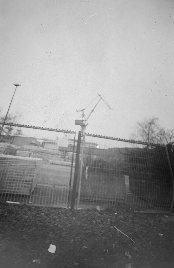 Blohm & Voss fotografiert mit einer Blechdosenkamera
