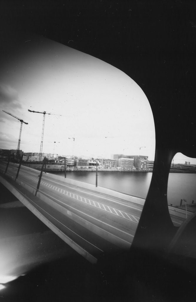 HafenCity Hamburg Viewpoint fotografiert mit einer Keksdosenkamera