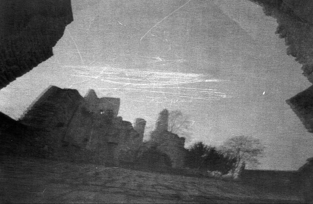 Hohensyburg fotografiert mit einer Lochkamera