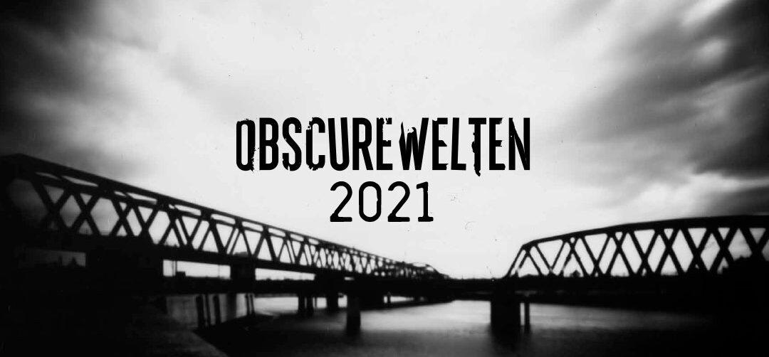Deckblatt des OBSCUREWELTEN Wandkalender 2021